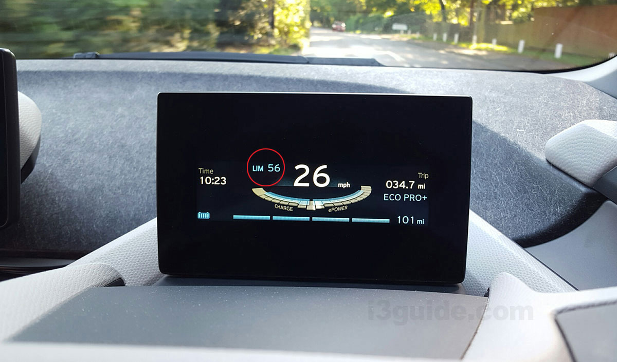 EcoPro+ Soft Limit 56 миль в час
