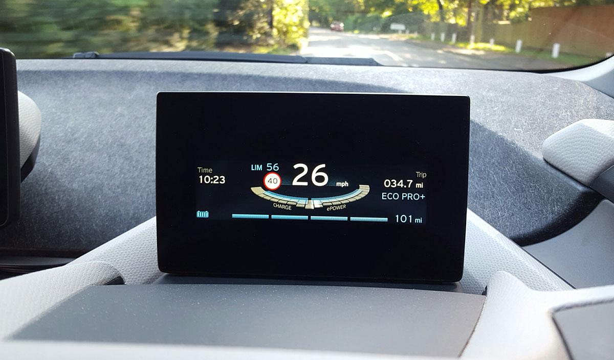 Чистый электрический пробег BMW 101 миля
