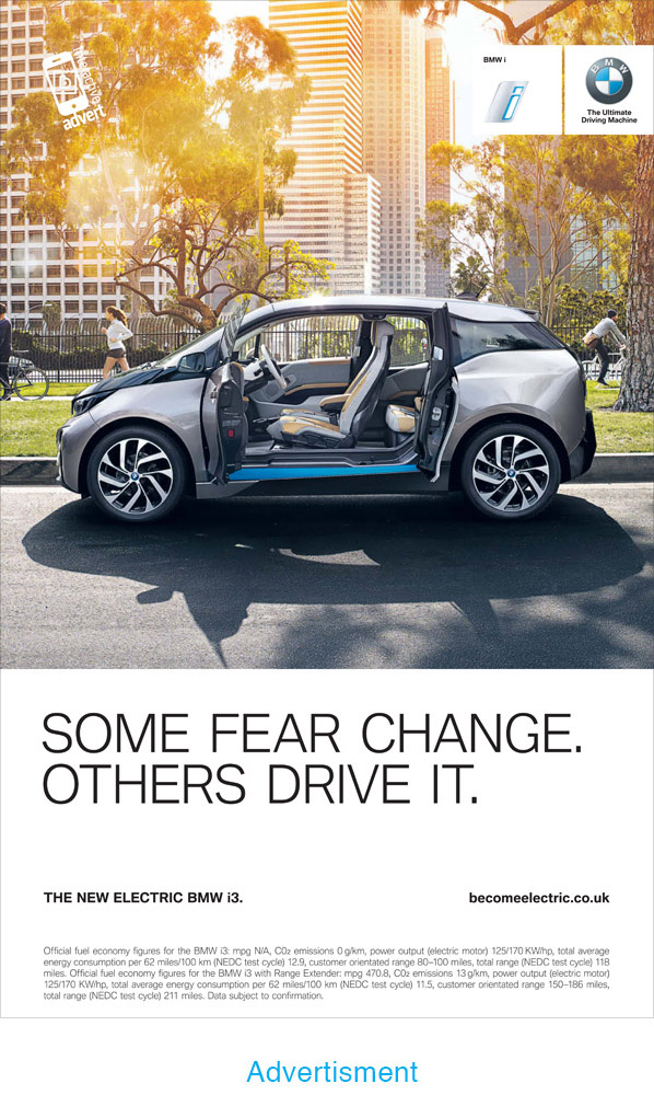 BMW i3 Advertisment