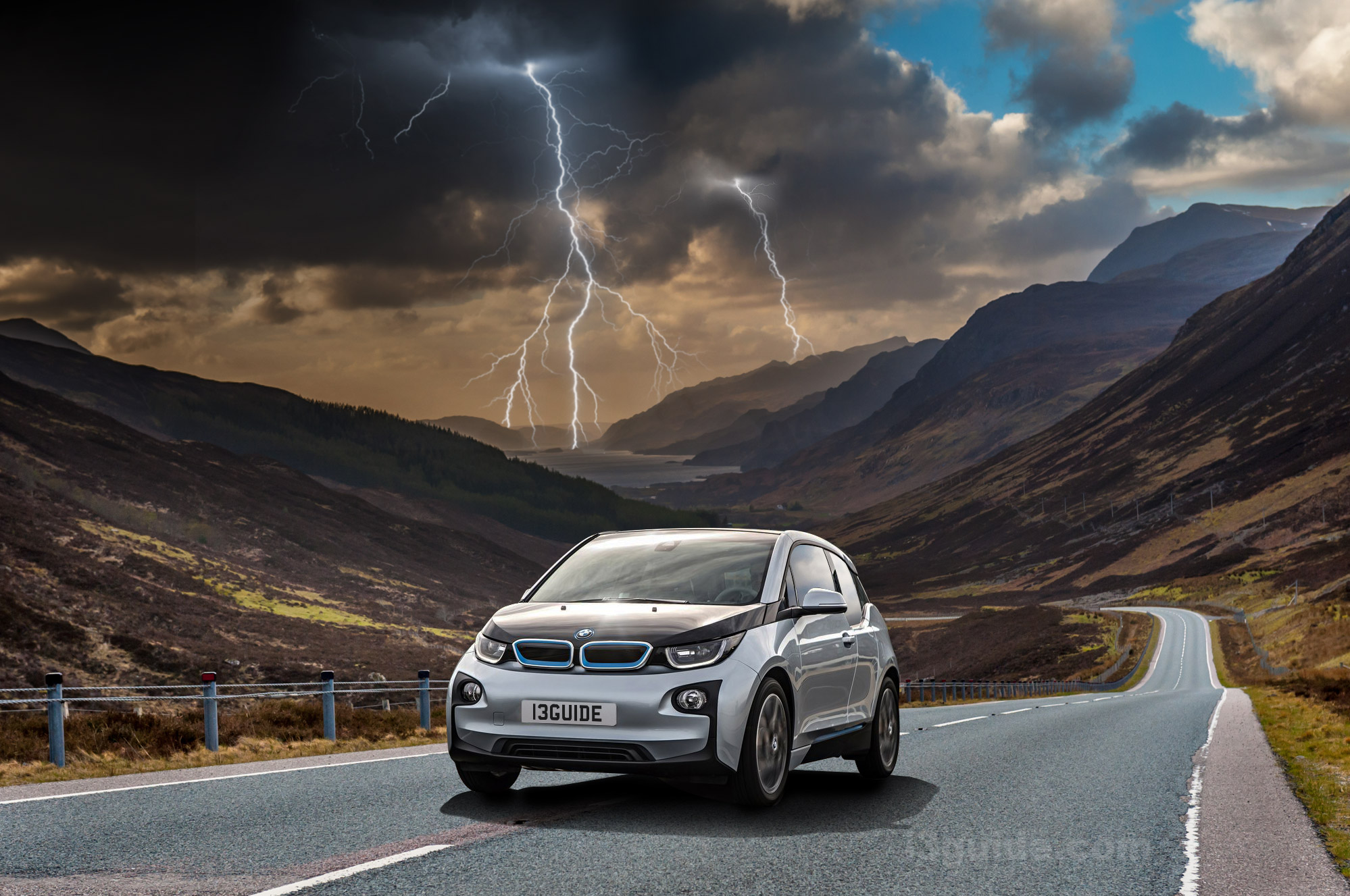 Charging your BMW during a lightning storm
