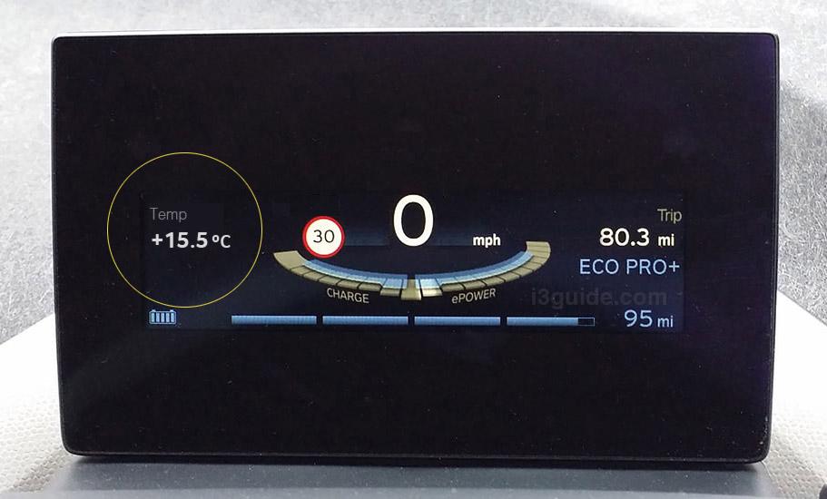 температура наружного воздуха