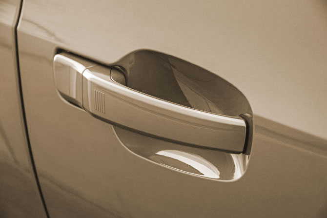 Comfort Entry Door Handle
