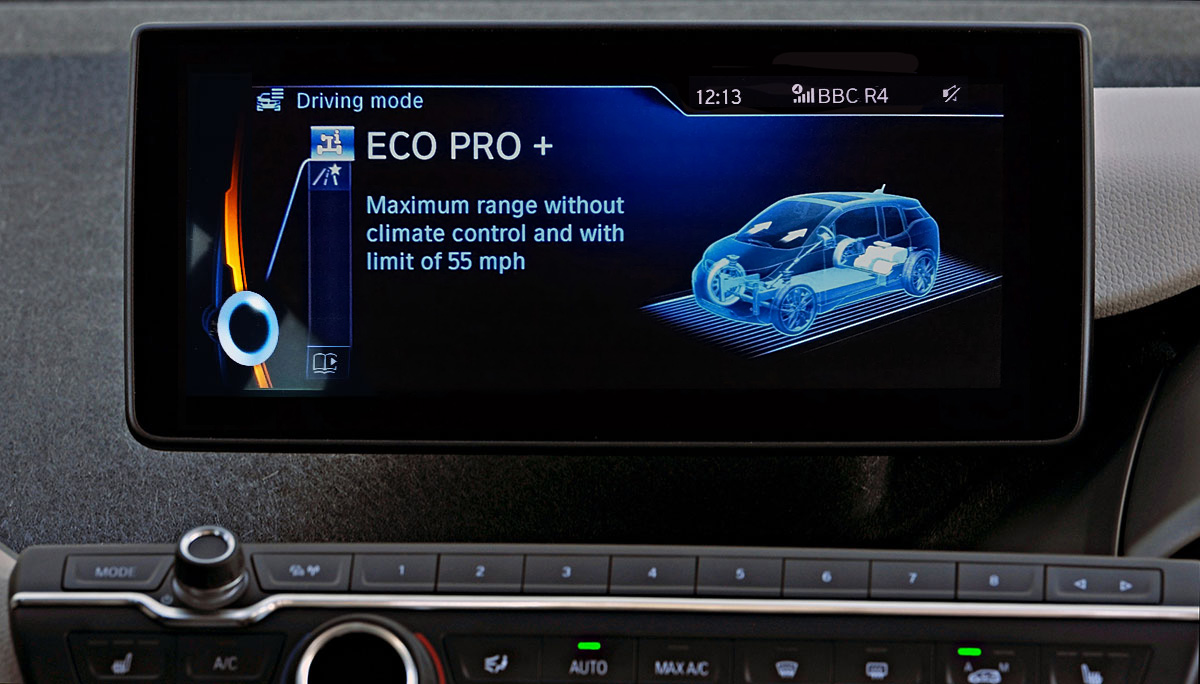 BMW i3 Eco Pro Plus mode