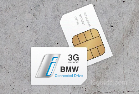 BMW i3 Connected Drive 3G SIM Card