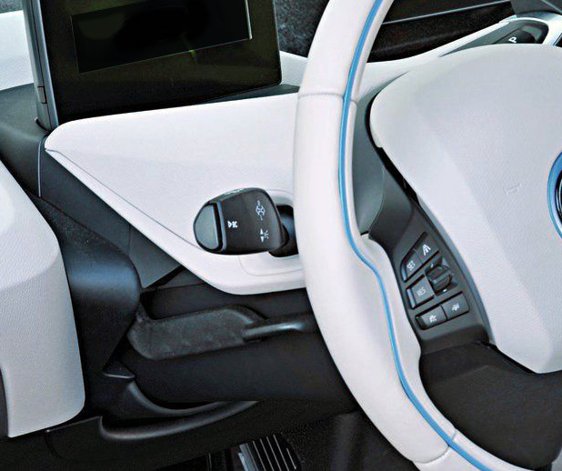 Советы по указателю поворота BMW i3