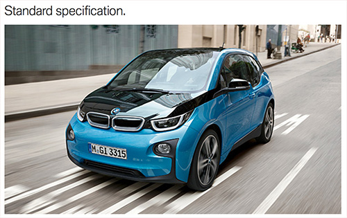 BMW i3 94Ah Standard Equipment & Highlights