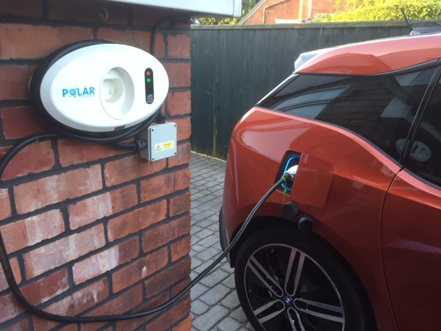 BMW i3 charger rain cover ©Bob Watling