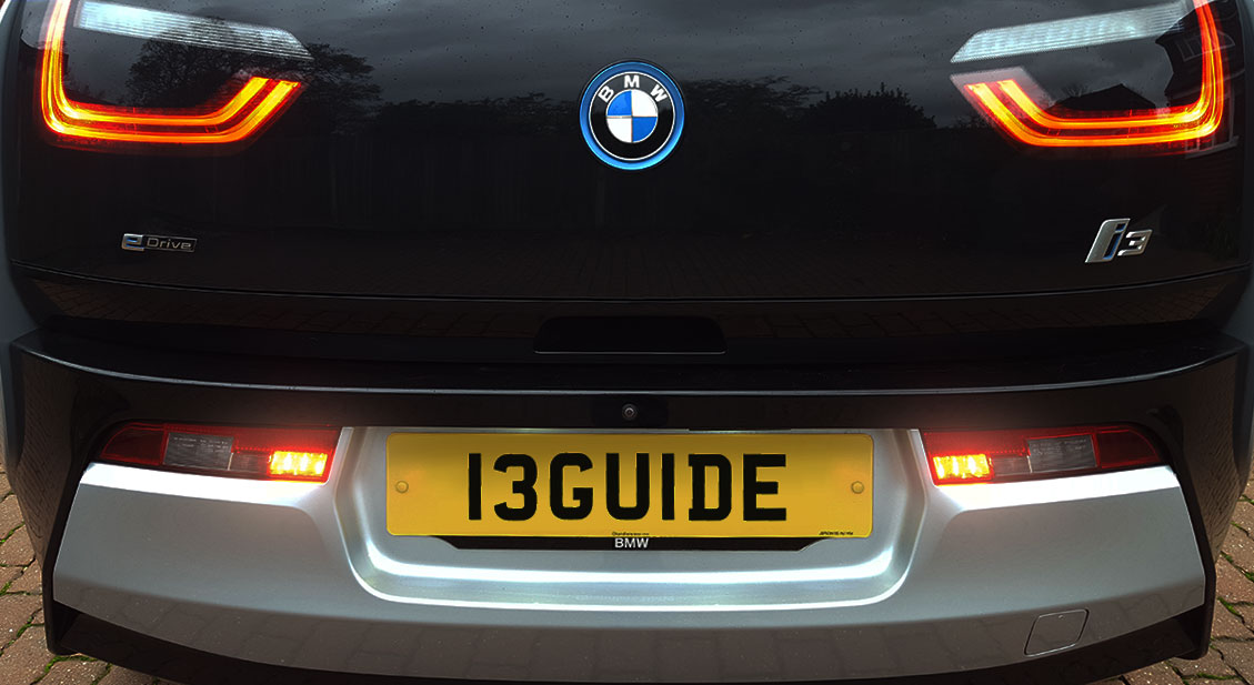 BMWi3 Rear Fog Lights