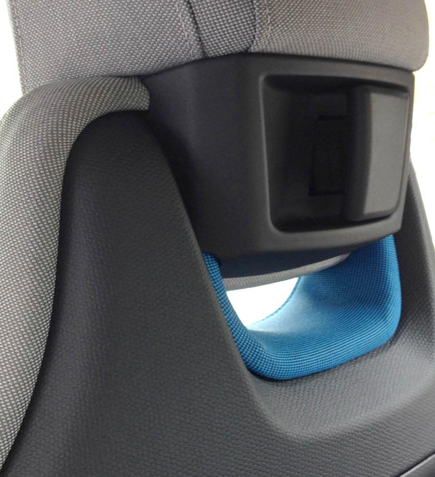 BMW i3 Seats with tilt feature